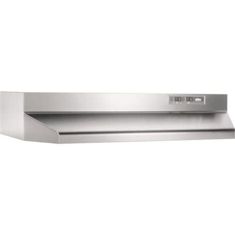 42 under cabinet range hood broan 4242 stainless steel 190 cfm 42 inch wide under