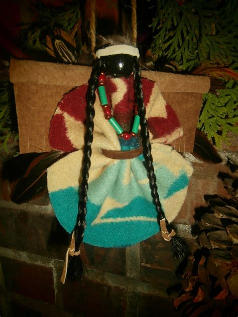 large native american indian christmas holiday angel