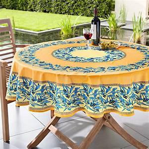 Pro Idee Garten : abwaschbare oliven tischw sche 160 x 160 cm blau wei ~ Watch28wear.com Haus und Dekorationen