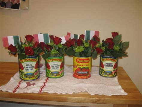 Italian Decorations For Home: Spaghetti Dinner Decoration Ideas