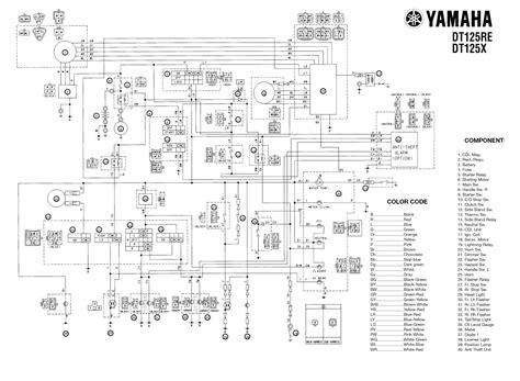 2000 yz 125 wiring diagram wiring diagram