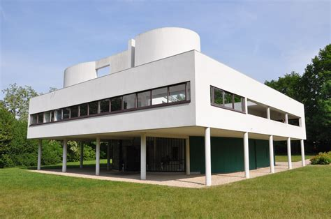Villa Savoye Le Corbusier by Villa Savoye By Le Corbusier And Jeanneret 1928