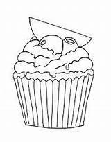 Coloring Pages Muffin Cupcake Blueberry Colorear Google Shortcake Strawberry Br Food sketch template