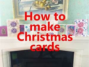 How To Make Your Own Flyers For Your Business How To Make Your Own Christmas Cards Using Paper Craft