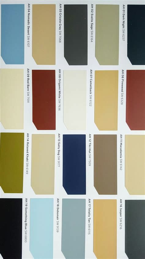 american heritage sherwin williams paint colors in 2019