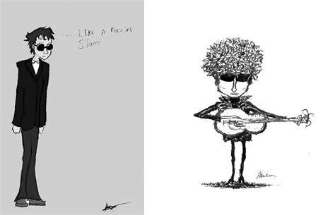 bob dylan cartoon drawings part  nsf  station