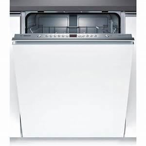 Lave Vaisselle Tout Integrable : lave vaisselle tout int grable bosch smv46ax01e privadis ~ Nature-et-papiers.com Idées de Décoration