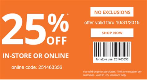 Office Depot Coupons July 2015 by Payless Coupon 25 Purchase More Retail Coupons