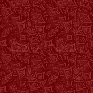 Maroon color seamless curved rectangle pattern background