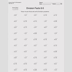 Printable Division Worksheets (for Grade 46)  Free Downloads