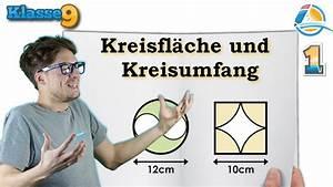 Kreisfläche Berechnen Online : kreisfl che und kreisumfang berechnen klasse 9 bung 1 youtube ~ Themetempest.com Abrechnung