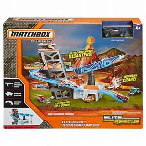 Matchbox Elite Rescue™ Mission™ Rescue Headquarters - Toys ...