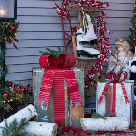 diy outdoor christmas gifts inspired  grandin road