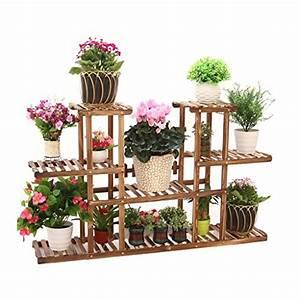 Regale von jun blumentreppen gunstig online kaufen bei for Feuerstelle garten mit bonsai fürs büro