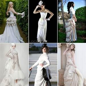 mondays finding steampunk wedding attire wedding With wedding dress steaming