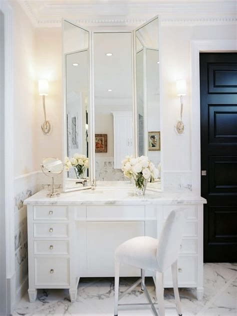 stunning gorgeous bathroom vanity  makeup
