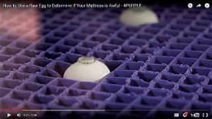 Purple39s clever egg test racks up online views wins fans for Egg test mattress
