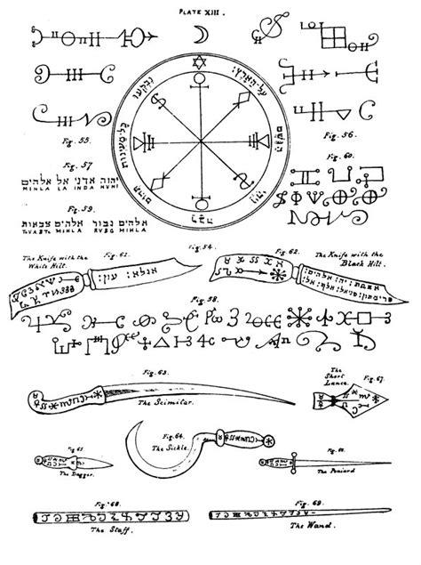 key  solomon book ii chapter viii   knife