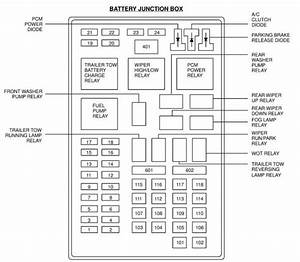 01 Ford F 150 Xlt Fuse Box Diagram