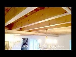 Realiser Un Plancher Bois : cr ation d 39 un tage avec plancher bois dans une ancienne ~ Dailycaller-alerts.com Idées de Décoration