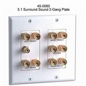 Datacomm Surround Sound Wallplates