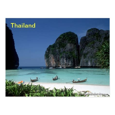 thailand postcard zazzle
