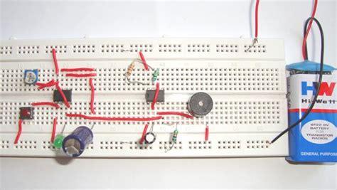 Doorbell Circuit Diagram Using