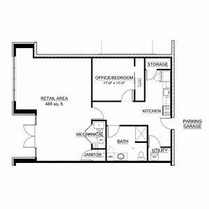 Live work floor plan 106 third ward for How does a dealer floor plan work