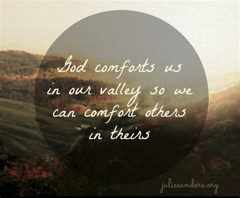 god comforts us how god comforts us and redeems our valleys
