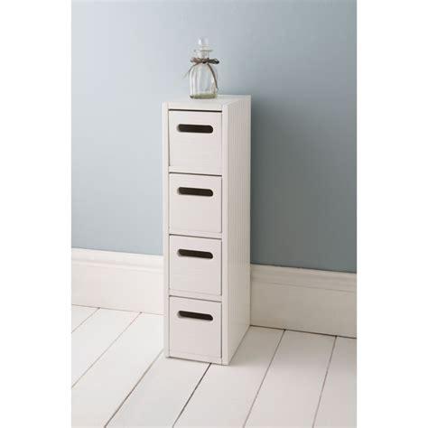 White Bathroom Drawer Unit by Polar 4 Drawer Unit White Bathroom Furniture B M