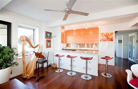 orange kitchens with white cabinets kitchen cabinets the 9 most popular colors to from 7208