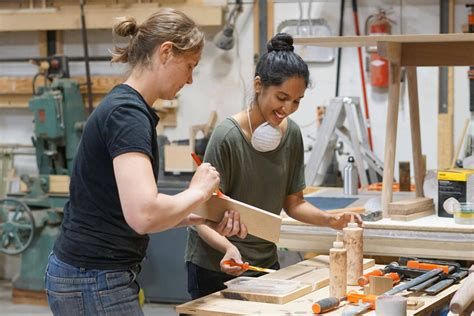 junction workshop toronto class instructs students   ways  woodworking  globe  mail
