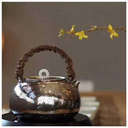 Teapot Japanese Handmade Tea Pot Pure Ceremony