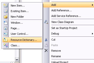 control template context menu simplify your xaml with resources and control templates