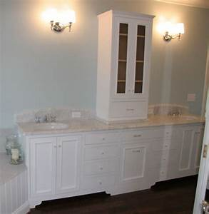 vanity with storage tower With bathroom vanities with storage towers