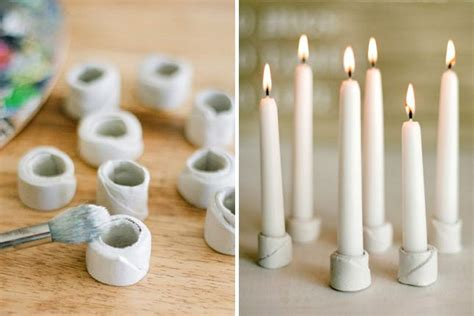 diy candle holders 25 beautiful candle holders you can diy brit co