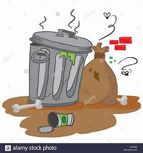 garbage cartoon illustration Stock Vector Art ...