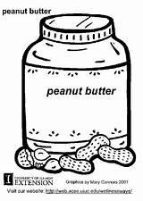 Peanut Butter Coloring Para Colorear Crema Cacahuete Dibujo Peanuts Printable Coloriage Pages Characters Beurre Nourriture Worksheets Edupics Deer Mask sketch template