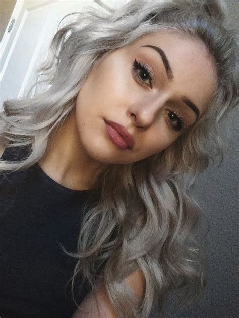 Silver Hair Lovers Hair Pinterest Silver Hair