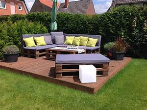 Outdoor Lounge Selber Bauen : palettenlounge bauen die neuesten innenarchitekturideen ~ Markanthonyermac.com Haus und Dekorationen