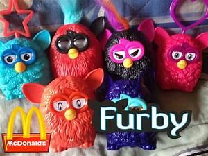 Furbys McDonald's Brindes Janeiro 2014 McLanche Feliz | Doovi