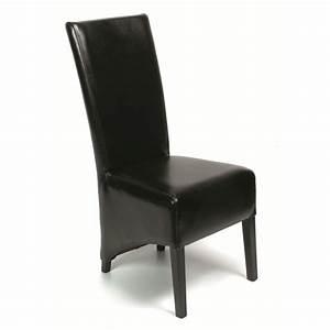 chaise salle a manger noir le monde de lea With salle À manger contemporaine avec chaise de salle a manger en cuir noir
