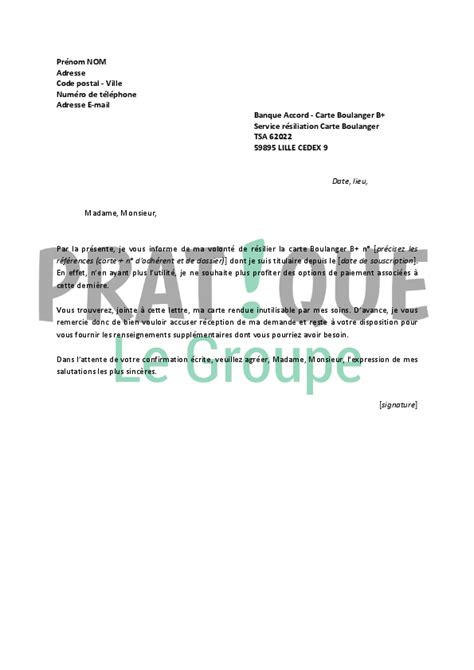 banque accord adresse siege modele lettre resiliation banque accord