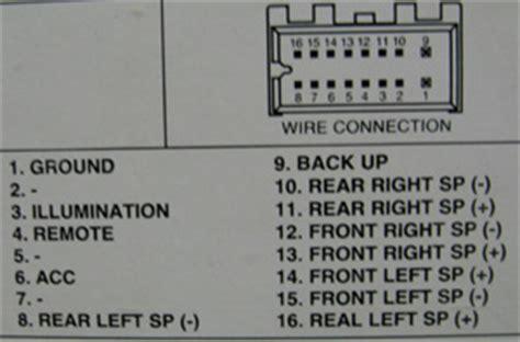 daewoo car radio stereo audio wiring diagram autoradio connector wire installation schematic