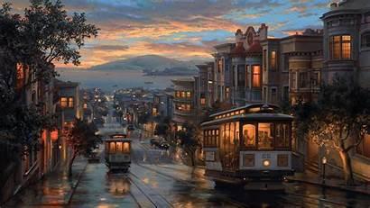 Painting Night Rainy Artistic Wallpapers 1080p Laptop