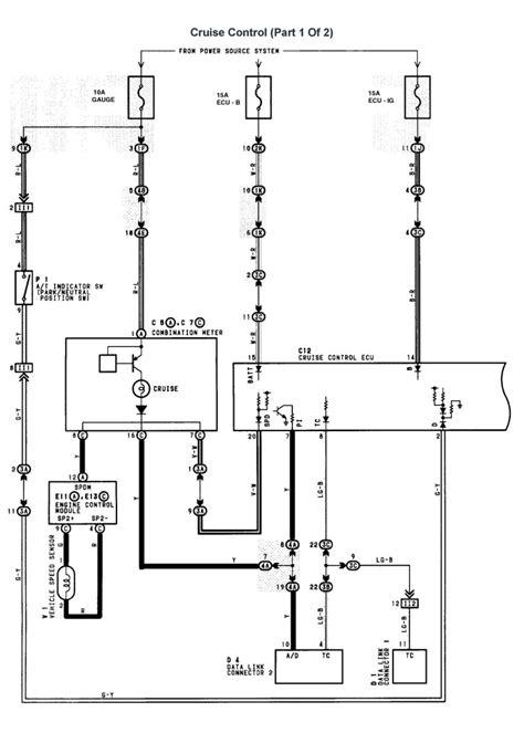 Wiring Diagram For Lexu V8 by Lexus V8 1uzfe Wiring Diagrams For Lexus Ls400 1997 Model