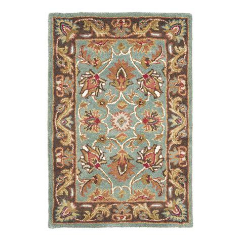 lowes area rug safavieh hg812b heritage area rug blue lowe s canada