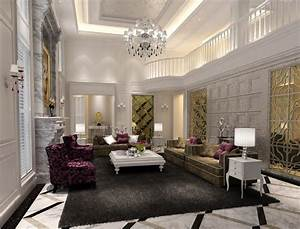 Luxury living rooms ceiling classic download 3d house for Luxury living rooms