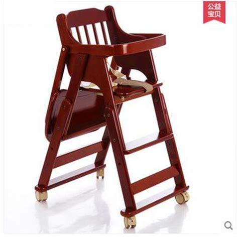 popular folding wooden highchair buy cheap folding wooden
