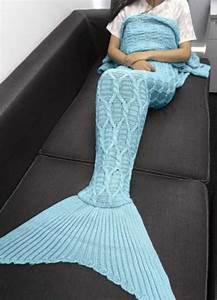 Plaid Queue De Sirene : d couverte un peu barr e le plaid queue de sir ne ~ Preciouscoupons.com Idées de Décoration